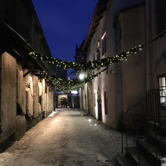 the side streets of Tallin old town are the cutesthellip