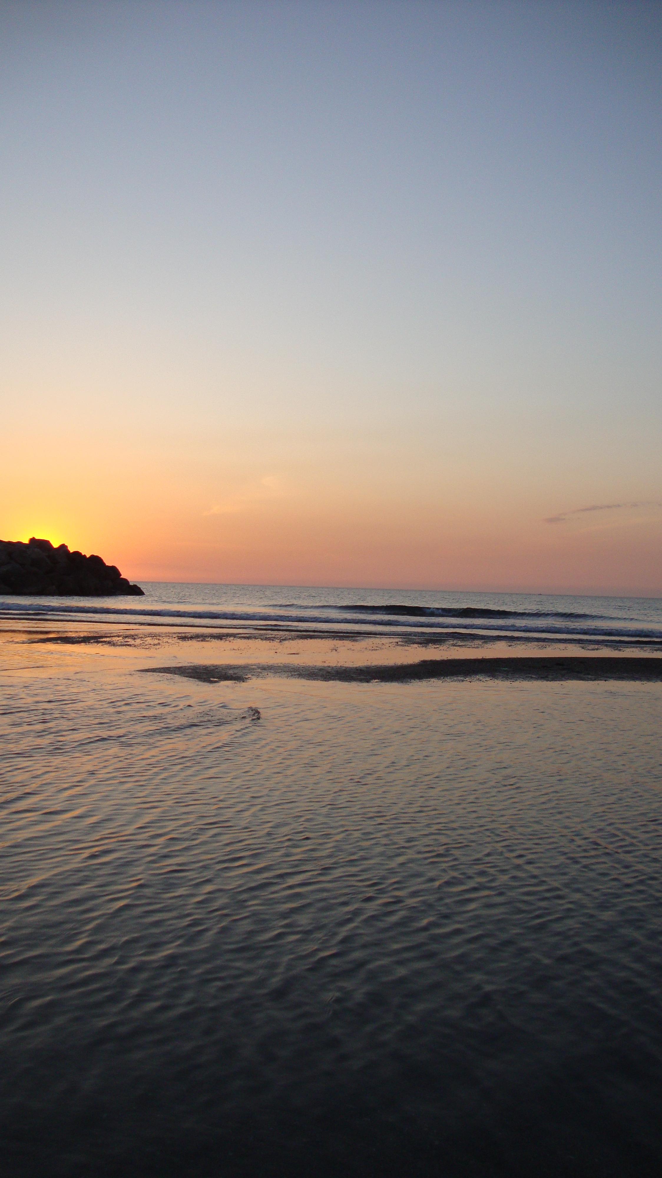 Auringonlasku Algeria