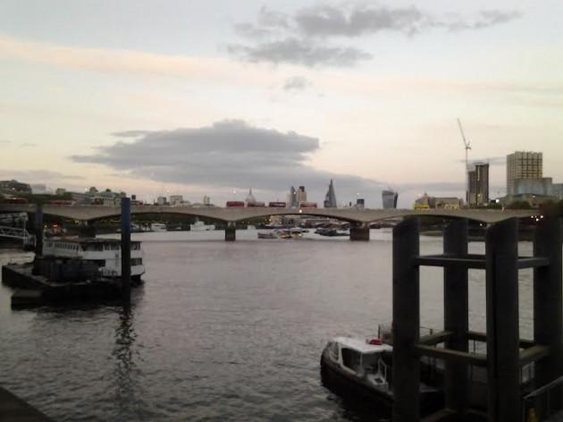 Iltakävelyltä Lontoossa