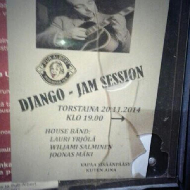 Django-jamit Pub Albertissa Kotkassa