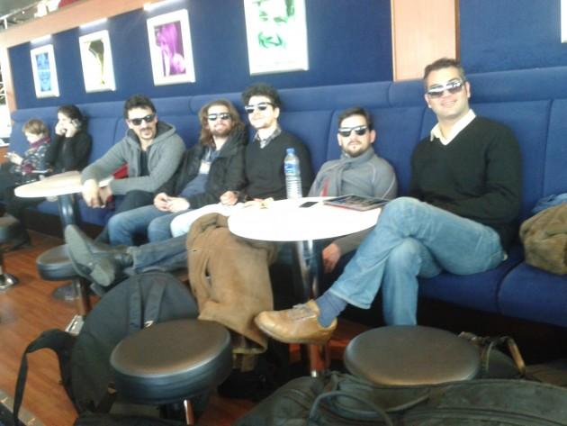 Red Wine Quintet. Mikäs sen sopivampaa Karri Luhtalan yhdistää italialaisia jazztaitureita Il Mondo Di Karri -kiertueeseen.
