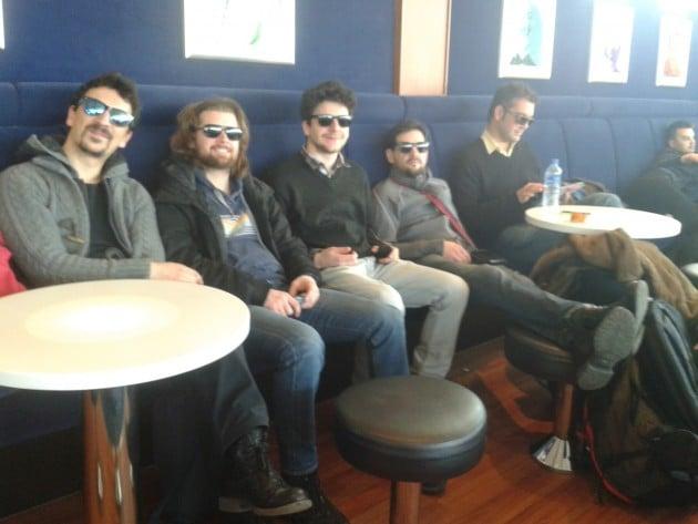Il Mondo Di Karri: Red Wine Quintet kiertueella palaamassa Tallinnasta Helsinkiin maaliskuussa 2016