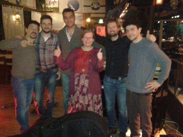 Kuva: Seppo Liimatainen Karri Luhtalan Il Mondo Di Karri -sarjan maaliskuinen kiertue Red Wine Quintetin kanssa alkoi Kotkasta.
