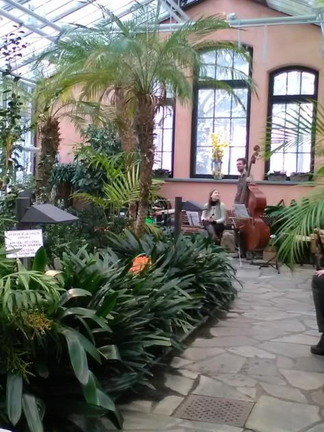 Minä päädyin Talvlipuutarhaan kuuntelemaan Barlast-yhtyeen levynjulkaisukeikkaa.