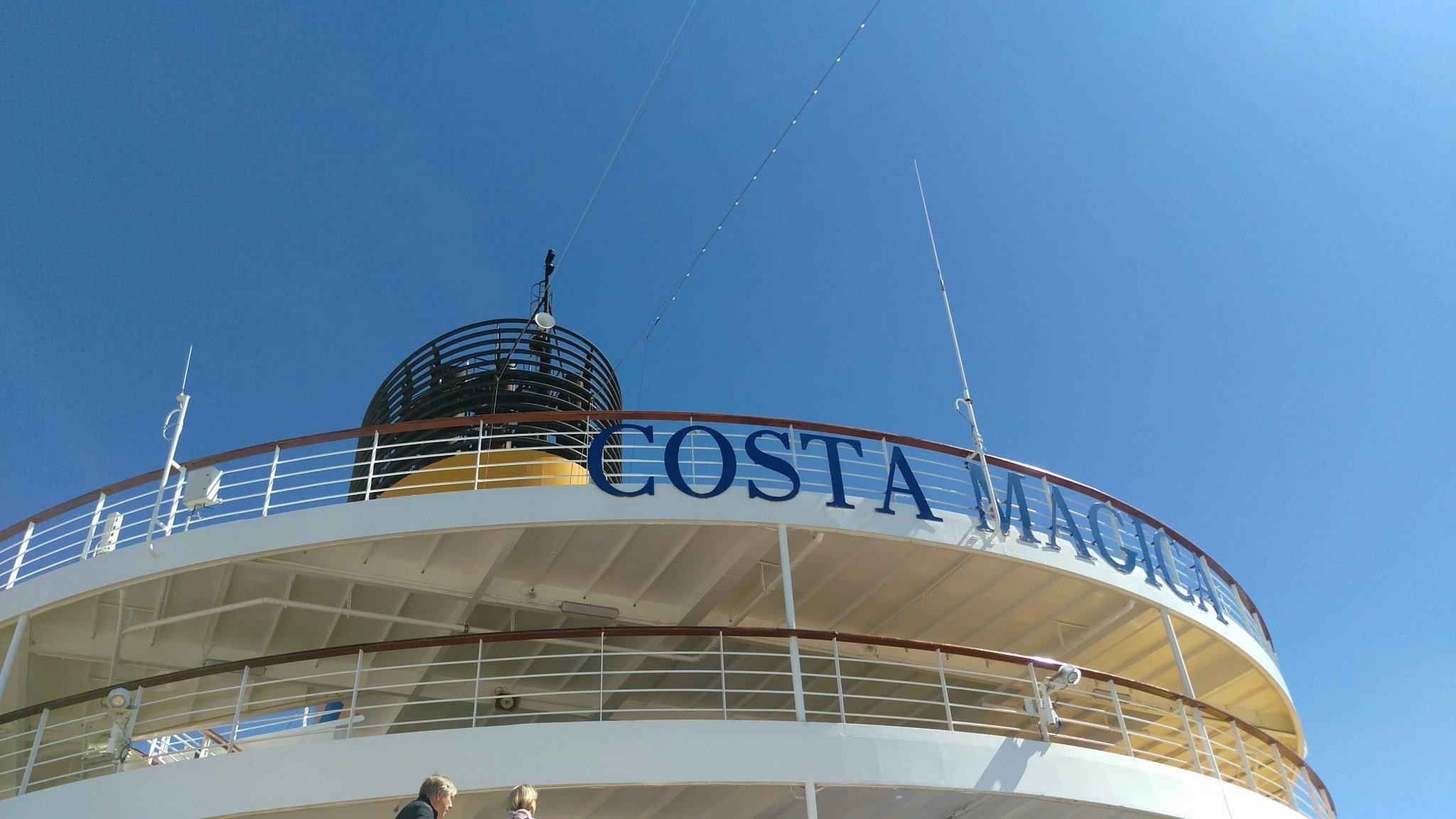 Costa Magica, Loistoristeilyt