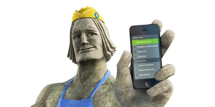 Katso, deletoin Siuntion ja Inkoon jo kännykästänikin!