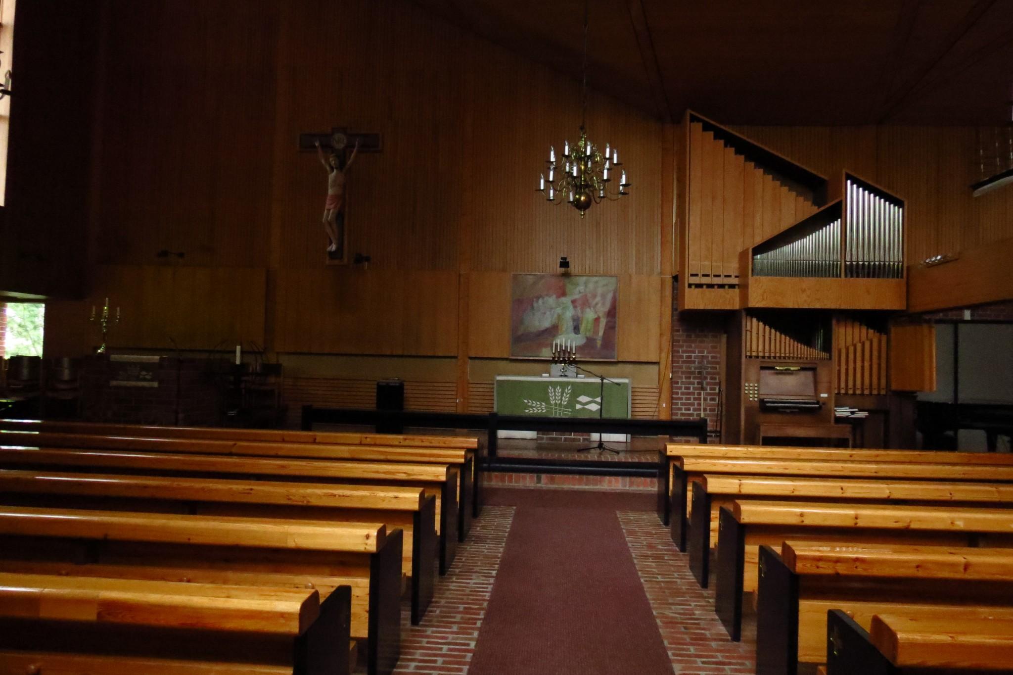 Kaskisten yllättävän moderni kirkko