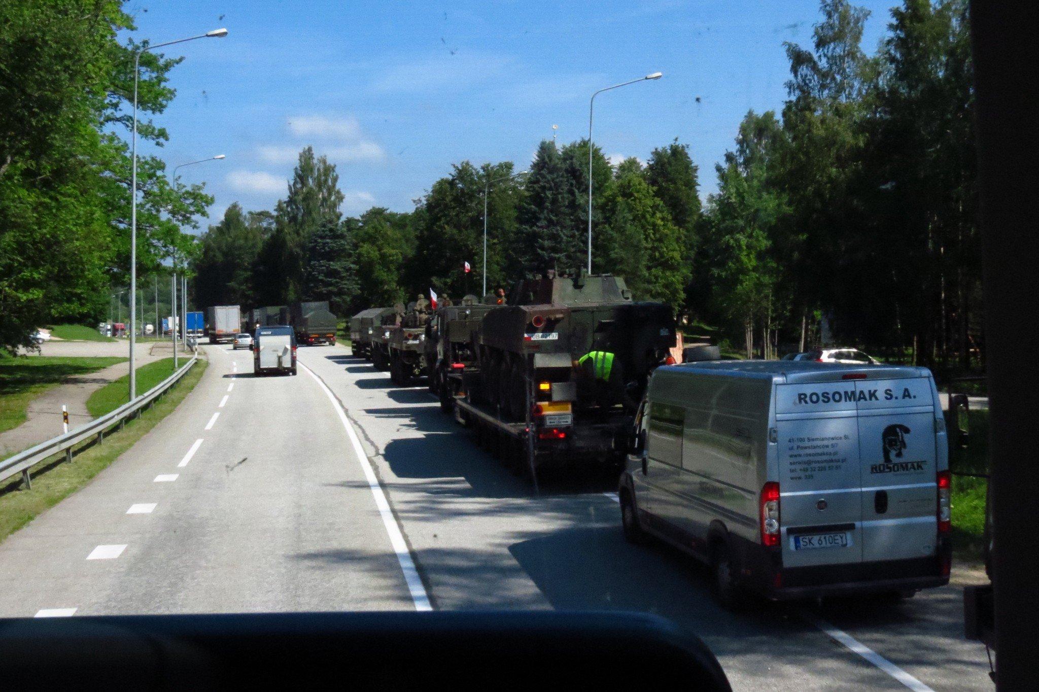 Baltian tilanne kiristyy
