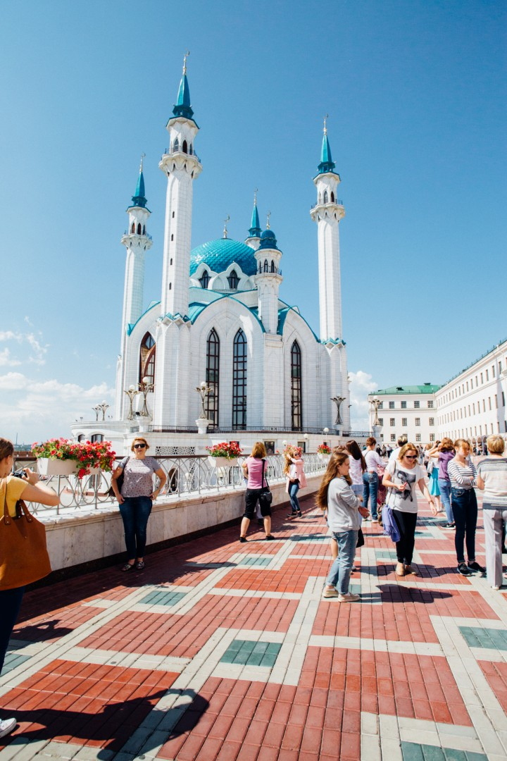 Kul Sharifan moskeija Kazan-17