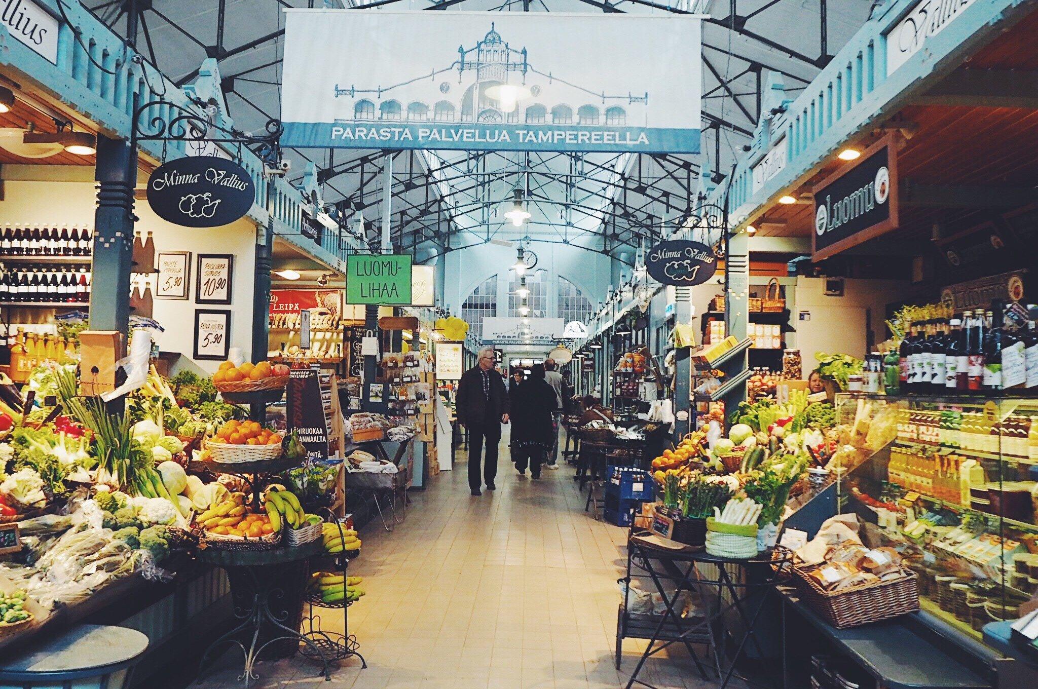 Tampereen kauppahalli ja 4 vuodenaikaa - täydellinen lounashetki ... b9dcb6e936