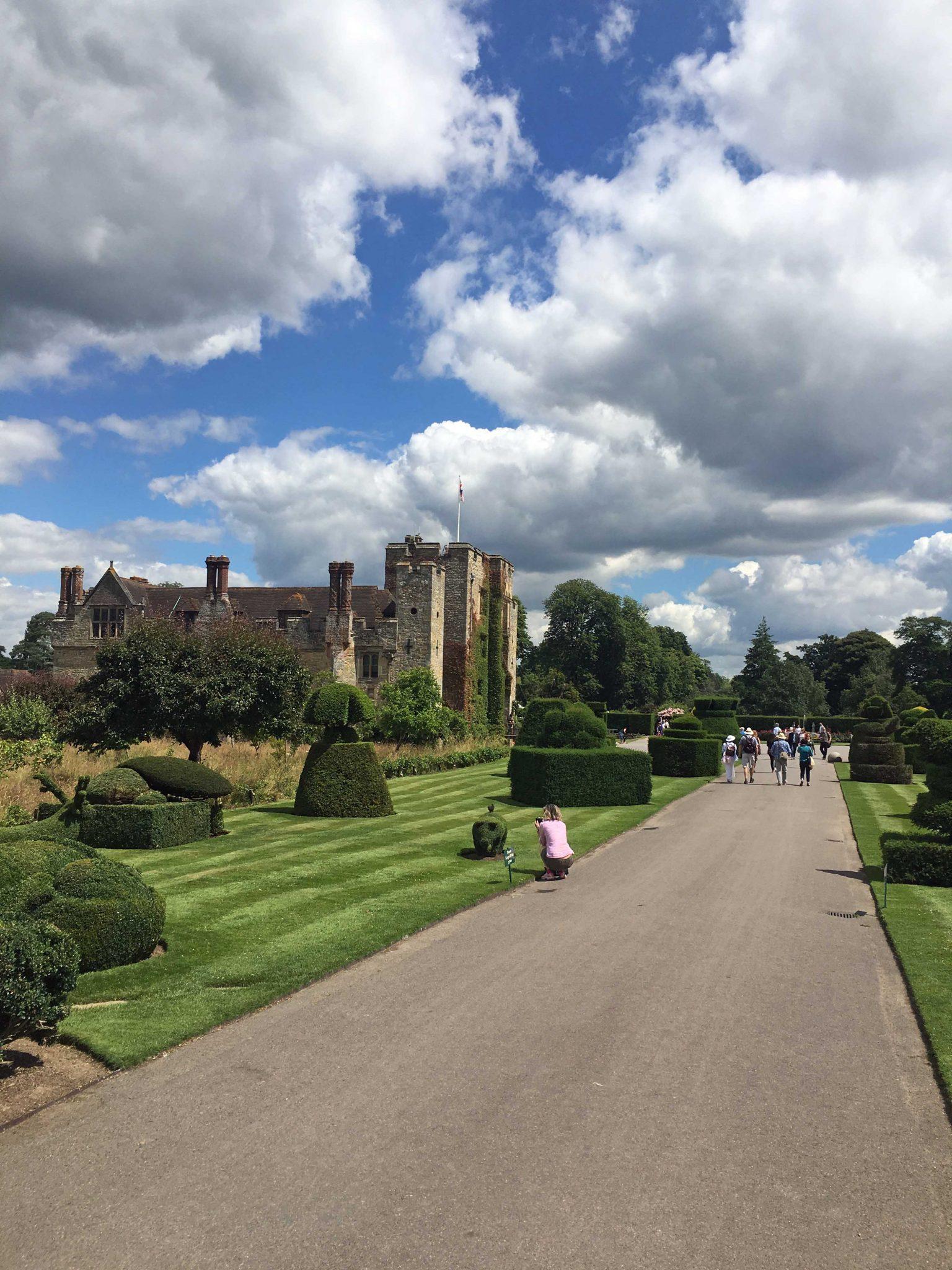 Anne Boleynin lapsuudenkoti Hever Castle