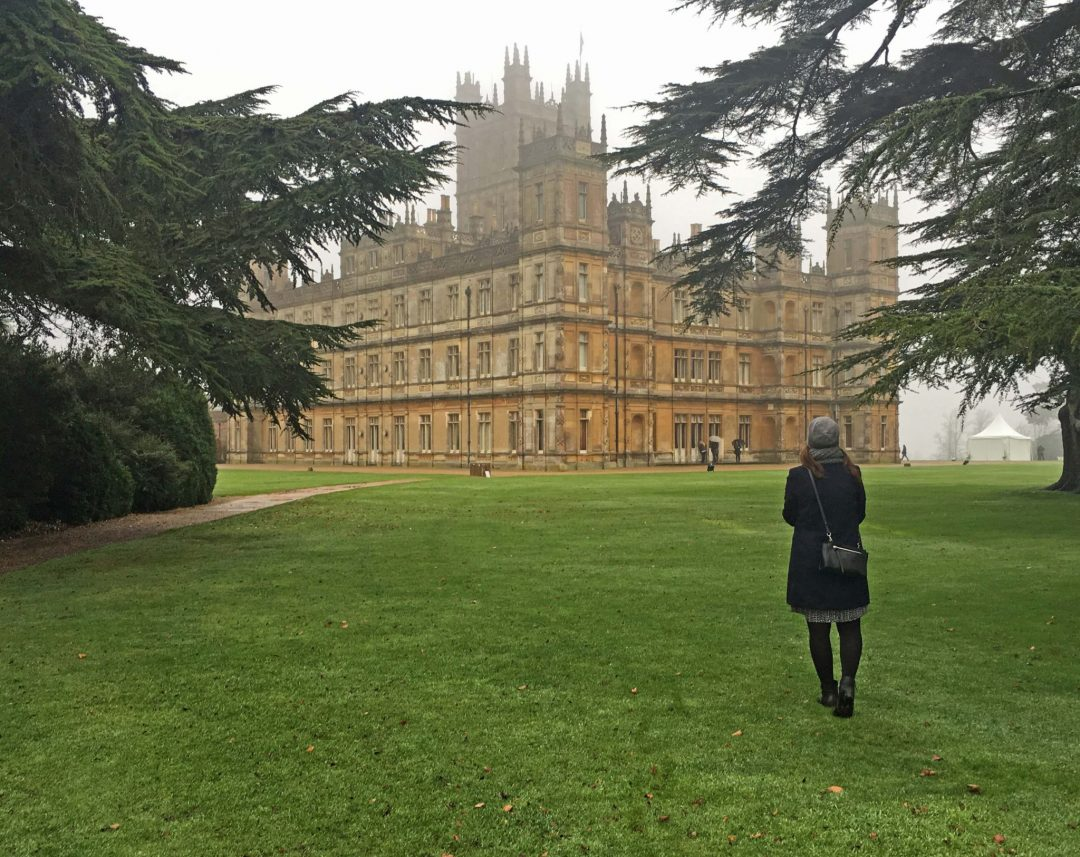 Downton Abbeystä tuttu Highclere Castle