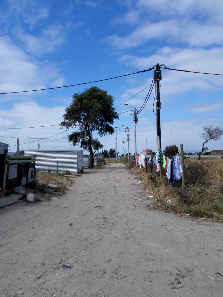 Vierailulla Kapkaupungin slummissa