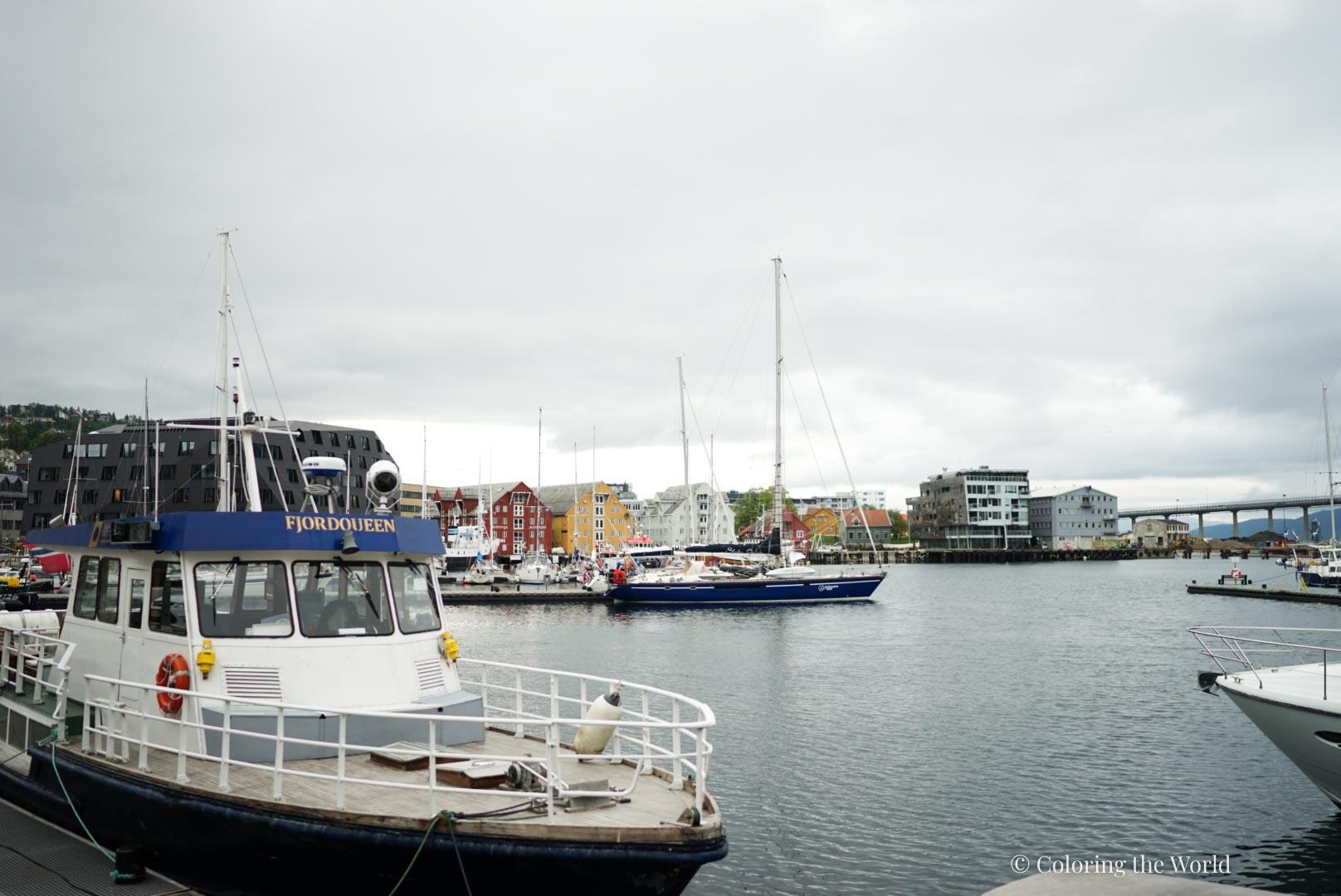 Tromssan satamaa