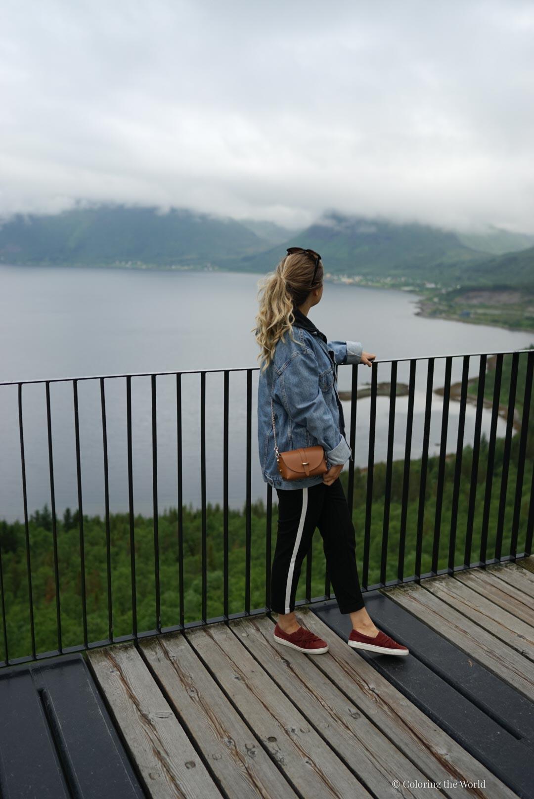 Bergsbotn näköalapaikka Senjalla