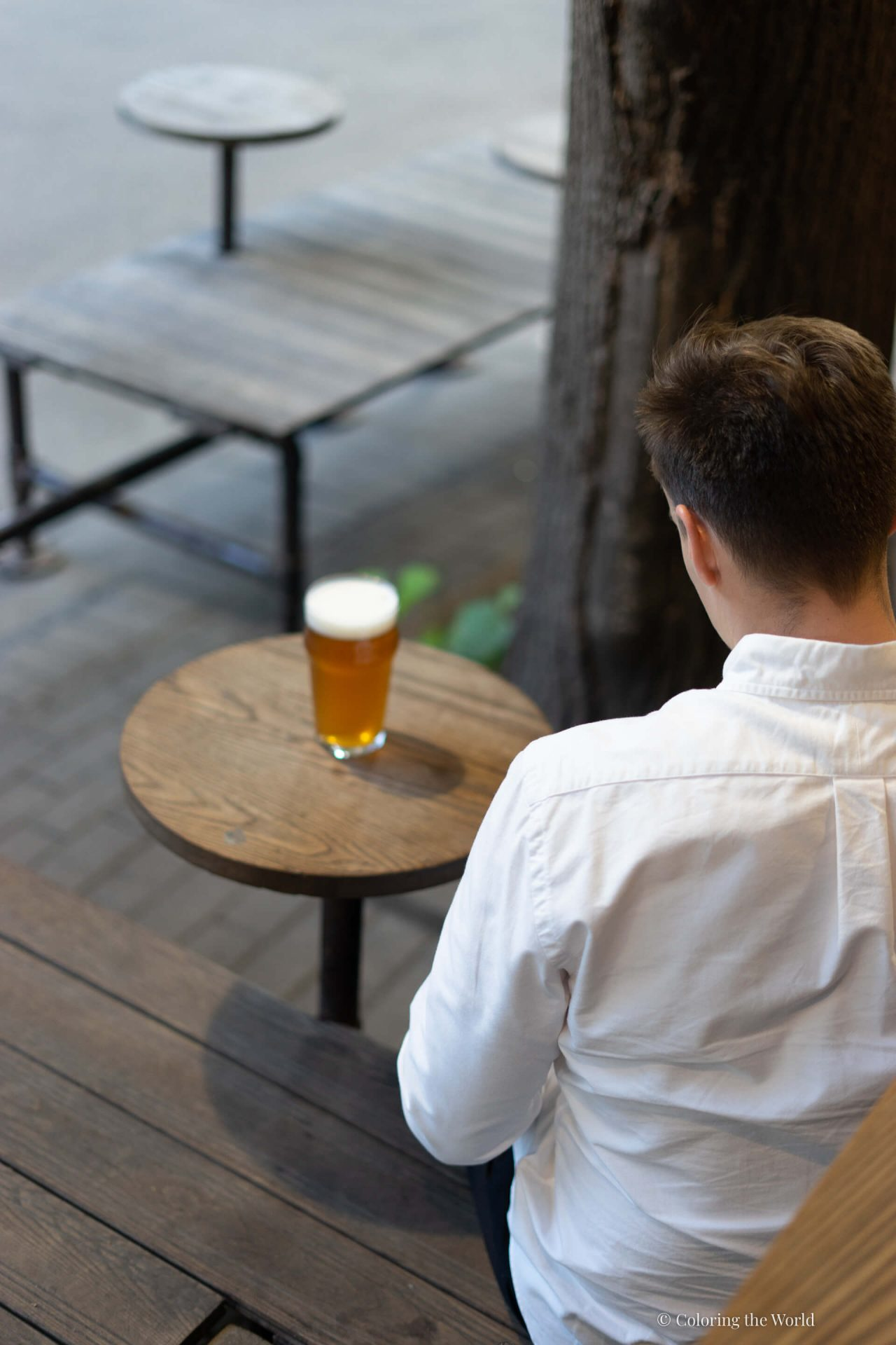 Oluella Beer Districtillä Riiassa