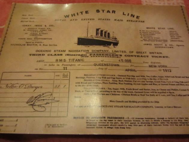 Boarding Pass Titanicille