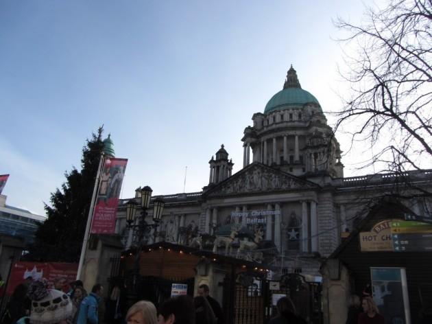 City Hall/Christmas market