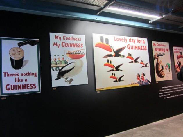 Vanhoja Guinness mainoksia