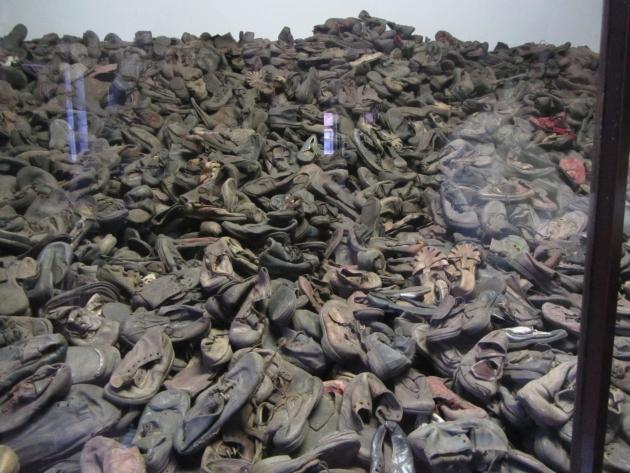 Auschwitz vierailu