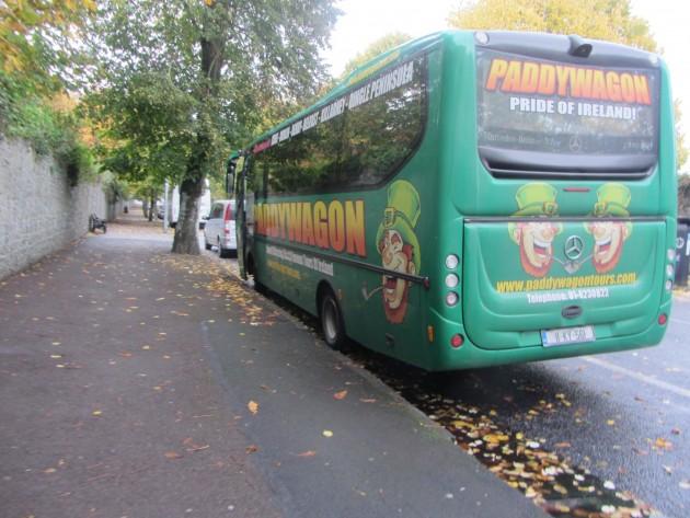 Bussilla Irlannissa