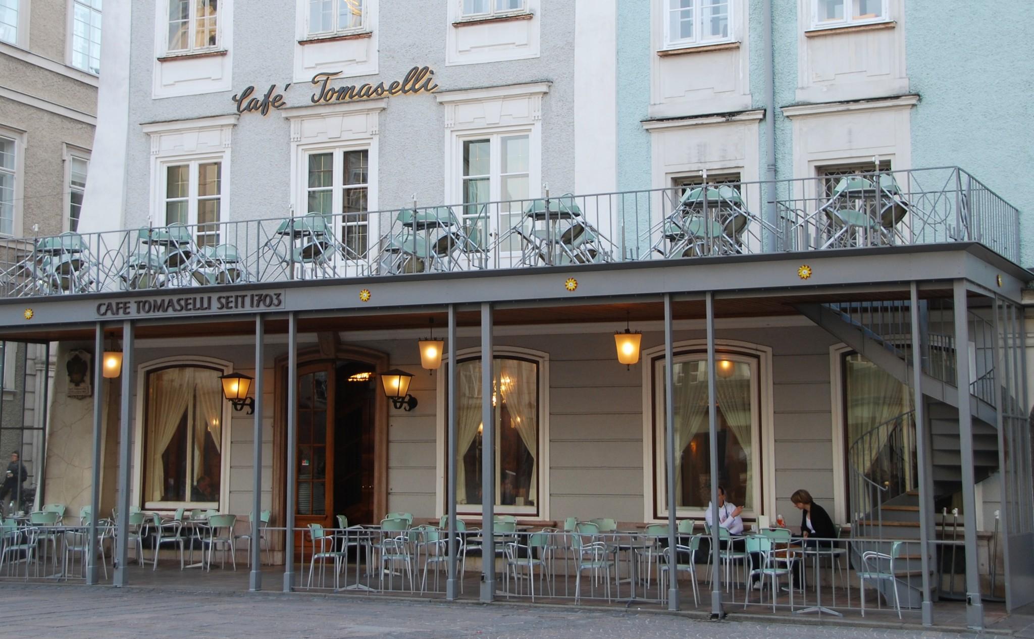 Salzburg Cafe Tomasselli