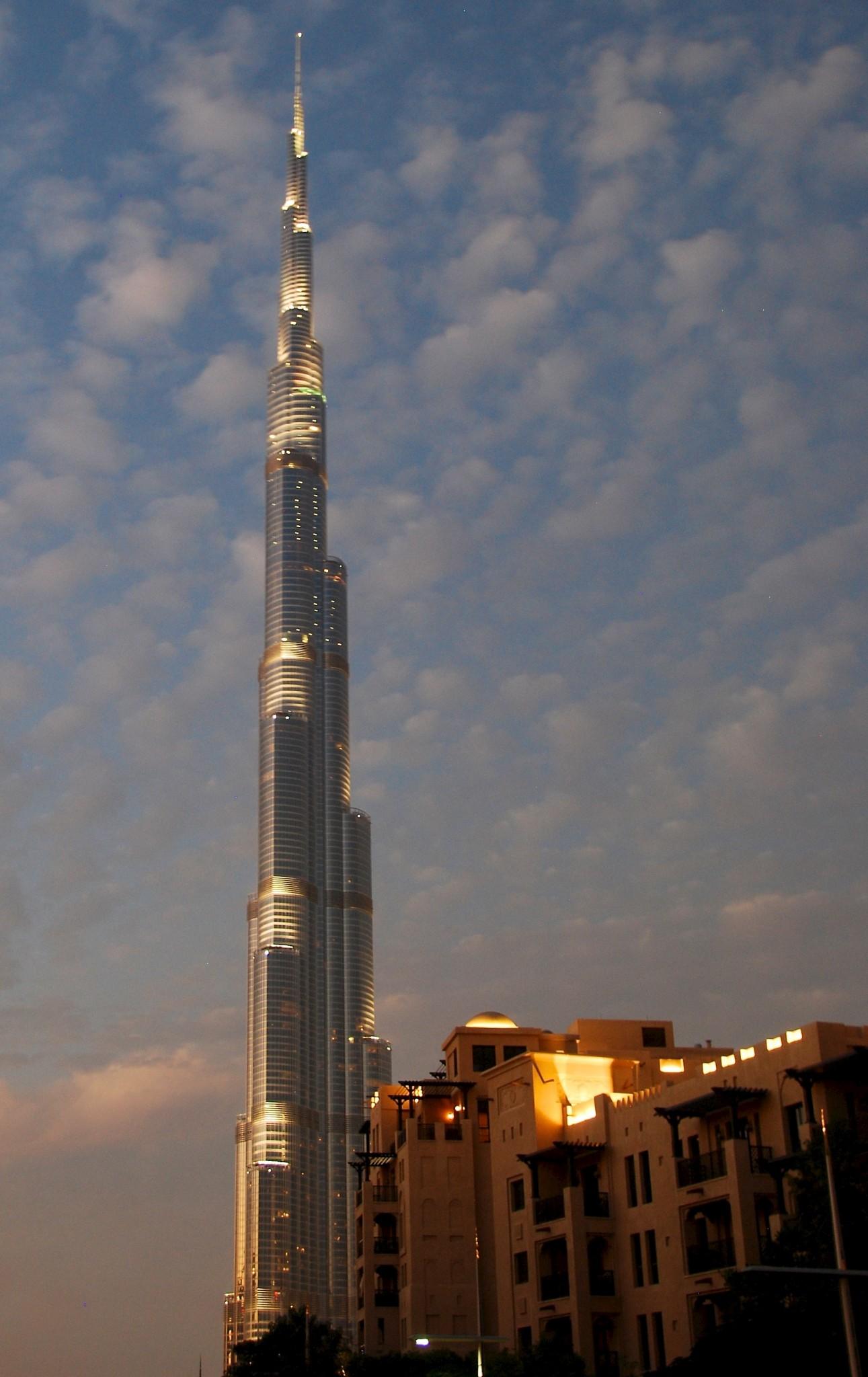 Burj Khalifa by niht