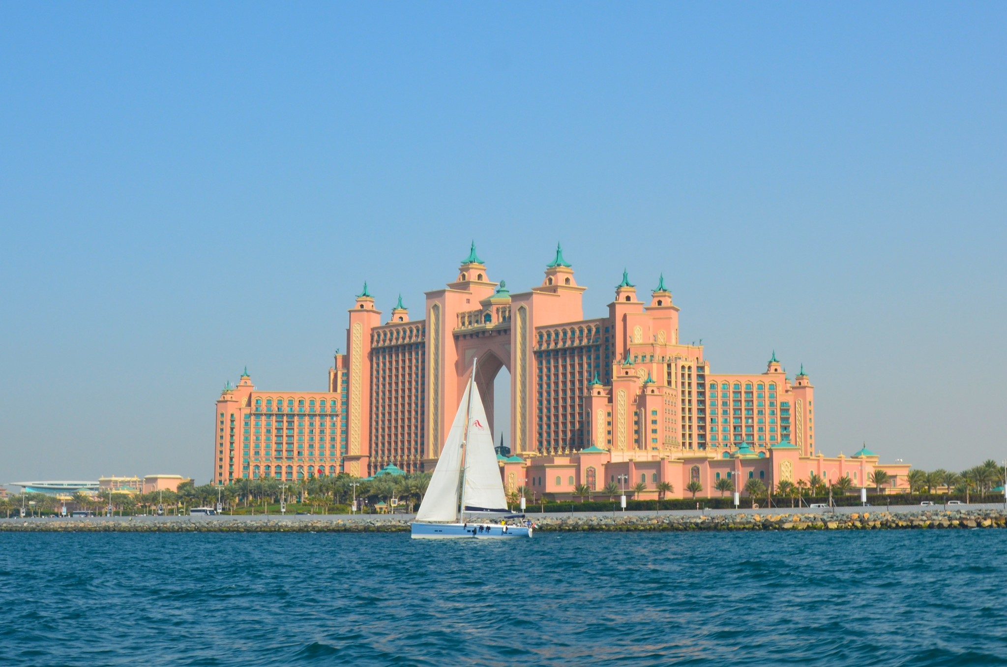 Atlantis from the sea