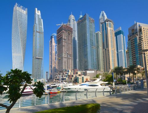 Koukku katsella Dubai
