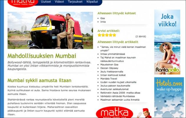 Mahdollisuuksien Mumbai Rantapallon sivustolla