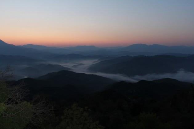 Kuva Pindosin vuorilta