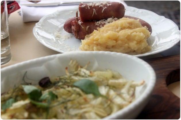 Ravintola-annos Ljubljanalaisessa ravintolassa