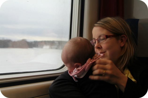 Junamatkalla Norjasta Suomeen