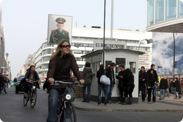 Päivä Berliinissä pyörällä