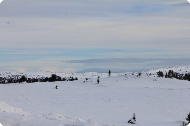 Kevättalven maisemia Norjassa