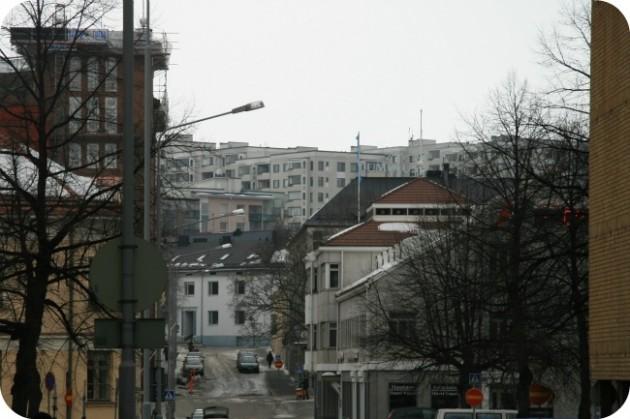 Tampereen kaupunkinäkymää