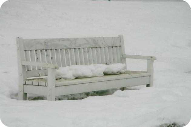 Talvista maisemaa Tampereelta