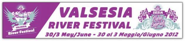 Valsesia River Festival banneri