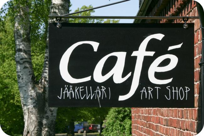 Cafe Jääkellari Suomenlinnassa