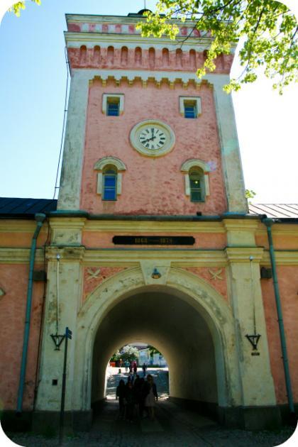 Portti Suomenlinnaan