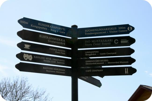 Suomenlinnan monta suuntaa