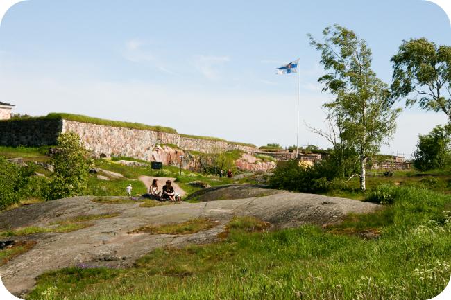 Suomenlinnan maisemia