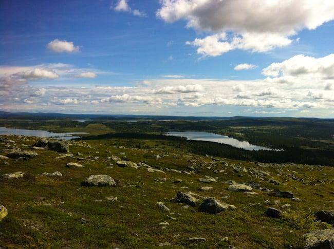 Haikkaamassa Norjassa