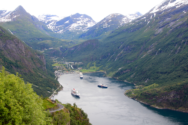 Geirangerfjord by @SatuVW I Destination Unknown