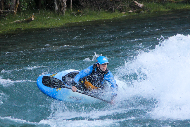 Freestyle kayaking in Valldal, Norway I Destination Unknown I @SatuVW