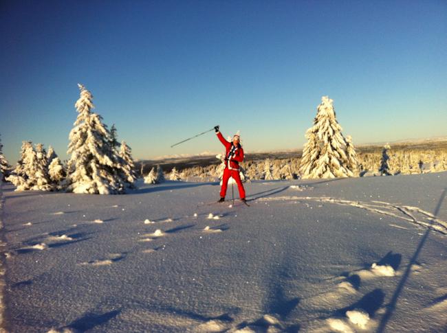 Joulupukki Norjan hiihtoladuilla I @SatuVW I Destination Unknown