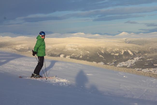 Maisemia Kvitfjell-hiihtokeskuksesta Norjasta I @SatuVW I Destination Unknown