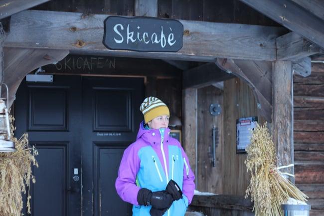 Kvitfjell Skicafe Norjassa I @SatuVW I Destination Unknown