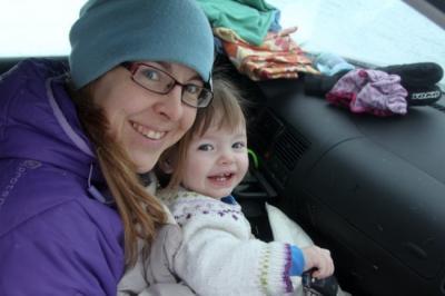 Hiihtoreissulla lapsen kanssa Norjassa I @SatuVW I Destination Unknown