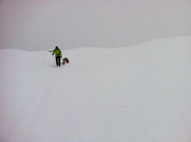Hiihtoreissulla pulkan kanssa Norjassa I @SatuVW I Destination Unknown